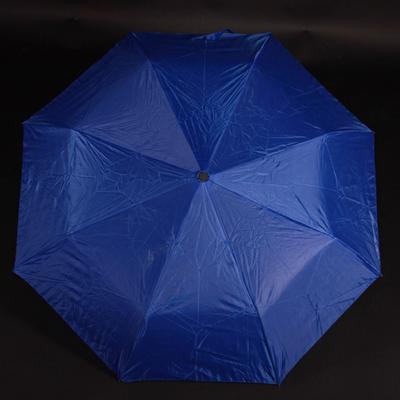 Jednobarevný skládací deštník Lejla světle modrý - 2