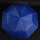Jednobarevný skládací deštník Lejla světle modrý - 2/2