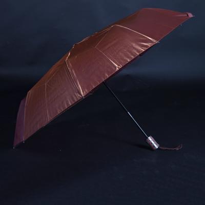 Luxusní dámský skládací deštník Darsi hnědý - 2