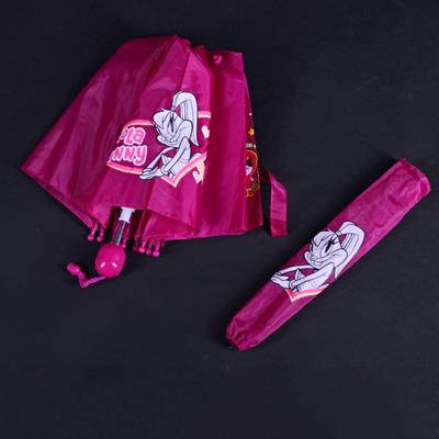 Skládací dětský deštník Samson růžový - 2
