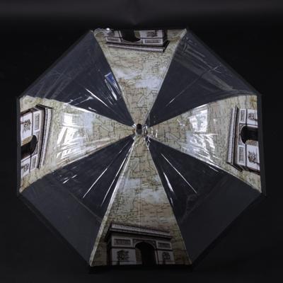 Průhledný vystřelovací deštník Michael - 2