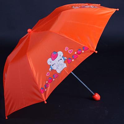 Skládací dětský deštník Samson oranžový - 2