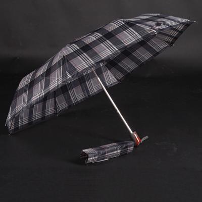 Pánský skládací deštník Alan černý - 2