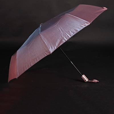 Luxusní dámský skládací deštník Darsi růžový - 2