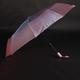 Luxusní dámský skládací deštník Darsi růžový - 2/2