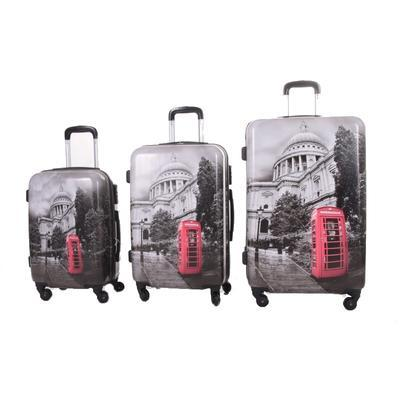 Cestovní kufr ABS England - velký - 2