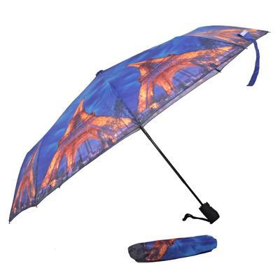 Malý skládací deštník Robert motiv Eiffelova věž - 2