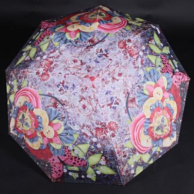 Skládací dámský deštník Megan červený - 2