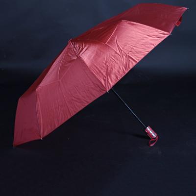 Luxusní dámský skládací deštník Nina červený - 2