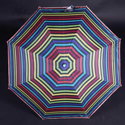 Pruhovaný deštník Dora zelený - 2