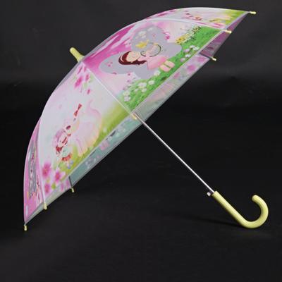 Dětský vystřelovací deštník Tim žlutý - 2