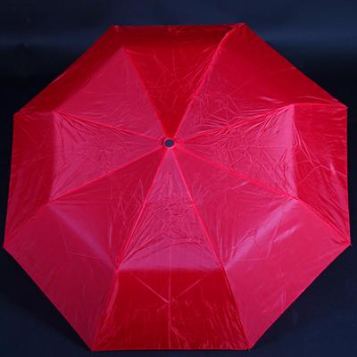 Jednobarevný skládací deštník Lejla červený - 2