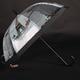 Automatický průhledný dámský deštník Dean černý - 2/2