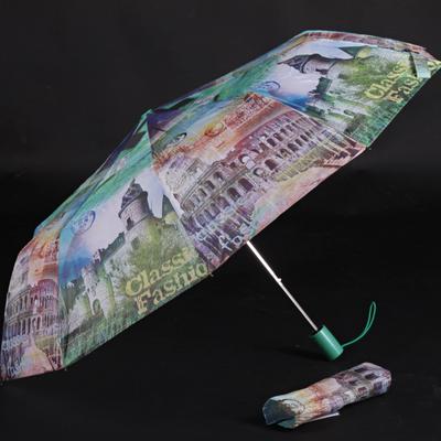 Dámský skládací deštník Aura tmavě zelený - 2