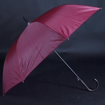 Velký holový deštník Rene v elegantní bordó - 2