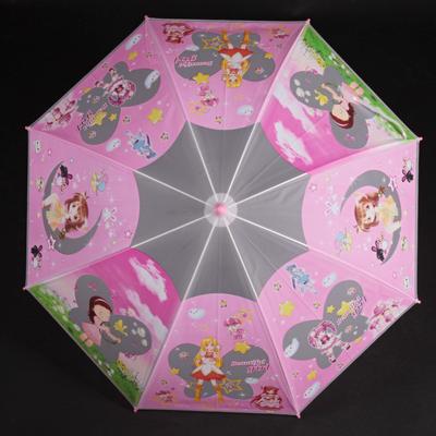 Dětský vystřelovací deštník Tim růžový - 2