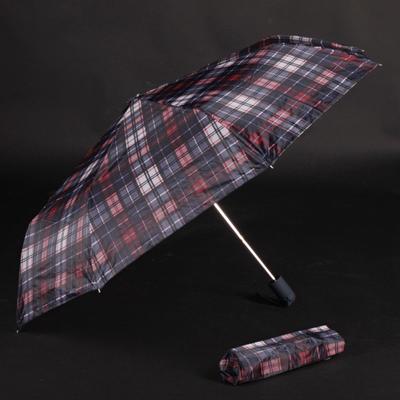 Pánský skládací deštník Alan červený - 2