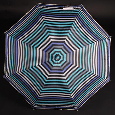 Pruhovaný deštník Dora modrý - 2