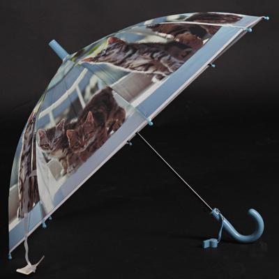 Dětský vystřelovací deštník Tory tmavě modrý - 2