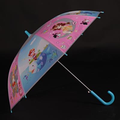 Dětský vystřelovací deštník Tim modrý - 2
