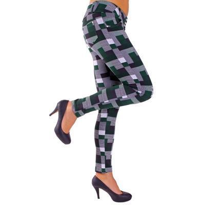 Kalhotové legíny Smokie zelené - 2