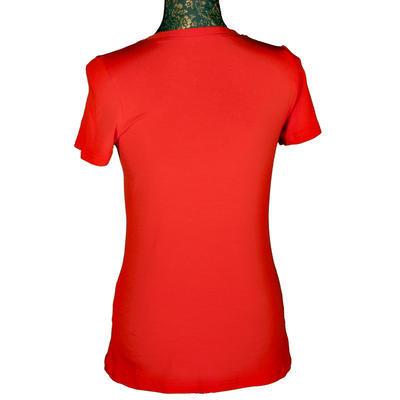 Červené tričko s krátkým rukávem Paula - 2