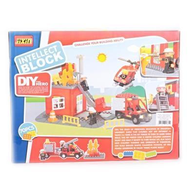 Stavebnice hasičská stanice Peter - 2