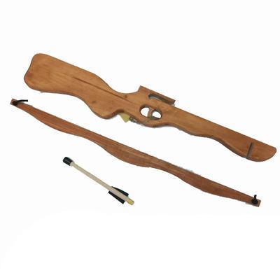 Velká dětská dřevěná kuše 58cm Achym - 2