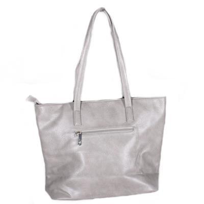Luxusní šedá kabelka Malvina - 2