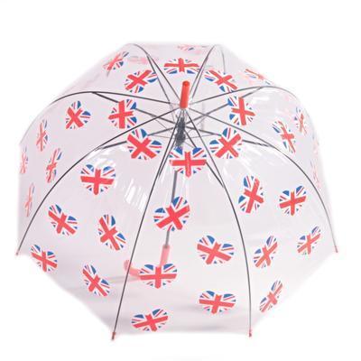 Průhledný deštník Vlajka  - 2
