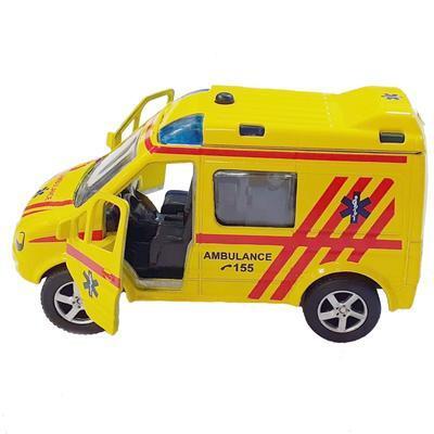 Auto ambulance česky mluvící 11cm Milan - 2