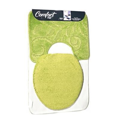 Koupelnová předložka Robin zelená set 3ks - 2