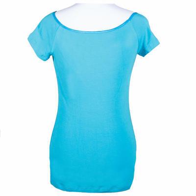 Modré tričko s krátkým rukávem Marika - 2