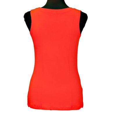 Červené tričko s širokými ramínky Amanda - 2