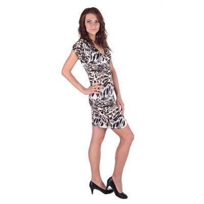 Letní šaty se zvířecím motivem Smaily  - 2