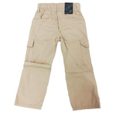 Chlapecké kalhoty 2v1 Boris krémové - 2