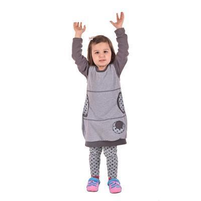 Dívčí bavlněné šatičky Saxana - 2