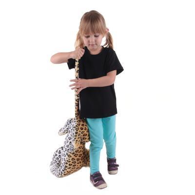 Černé dětské tričko krátký rukáv Laura od 98-116 - 2