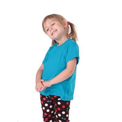 Tričko krátký rukáv Laura tmavě modré od 122-146 - 2