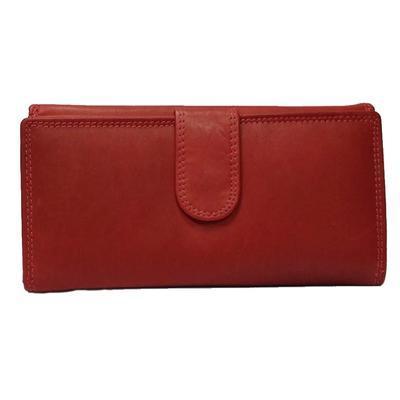 Dámská luxusní peněženka Esther červená - 2