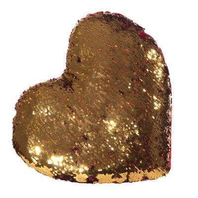 Plyšový měnící polštář srdce Love - 2