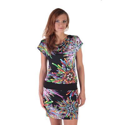 Zářivé letní šaty Paprsek - 2