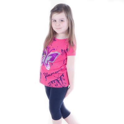 Dívčí  komplet - měnící tričko a 3/4 legíny Ester - 2