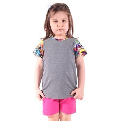 Šedé dětské tričko Sam - 2