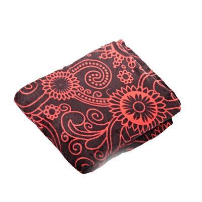Hřejivá deka Tina červená 150 x 200 - 2