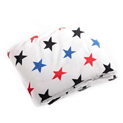 Hřejivá deka Hvězda bílá 150 x 200 - 2