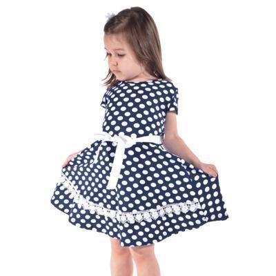 Dívčí letní puntikaté šaty Tina - 2