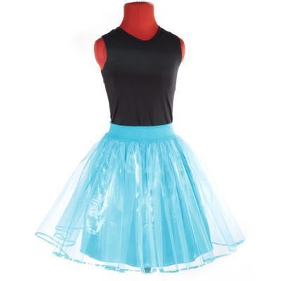 Tutu dámská sukně Adriana modrá - 2