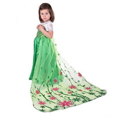 Karnevalový kostým princezna Elsa zelený - 2