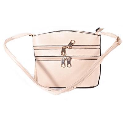 Luxusní dámská crossbody kabelka Armin krémová - Afrodit.cz 9326704db81
